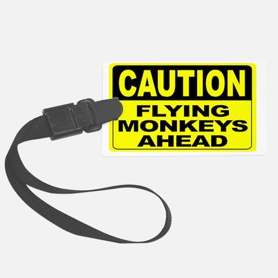 Flying Monkeys Ahead Wide Luggage Tag
