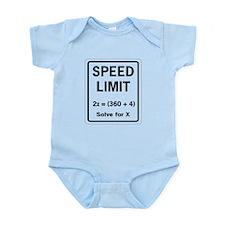 Speed limit math Body Suit