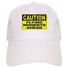 Flying Monkeys Ahead Wide Baseball Cap