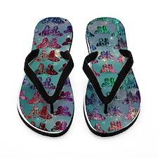 Lorelei's Fantasy Butterflies Flip Flops