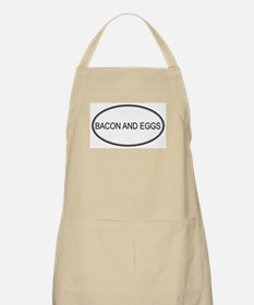 BACON AND EGGS (oval) BBQ Apron