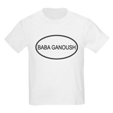 BABA GANOUSH (oval) T-Shirt