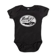 Meat without feet Baby Bodysuit
