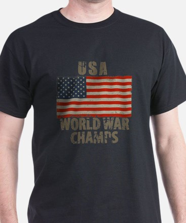 USA, World War Champs T-Shirt