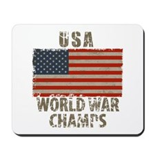 USA, World War Champs Mousepad
