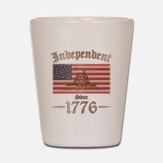 Independent Shot Glass