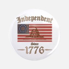 "Independent 3.5"" Button (100 pack)"