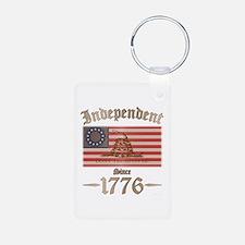 Independent Aluminum Photo Keychain