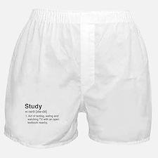 Study definition Boxer Shorts
