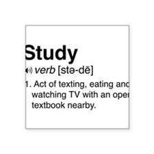 Study definition Sticker