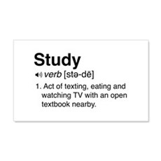 Study definition Wall Decal