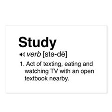 Study definition Postcards (Package of 8)