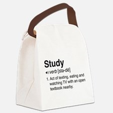 Study definition Canvas Lunch Bag