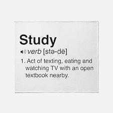 Study definition Throw Blanket