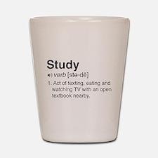 Study definition Shot Glass
