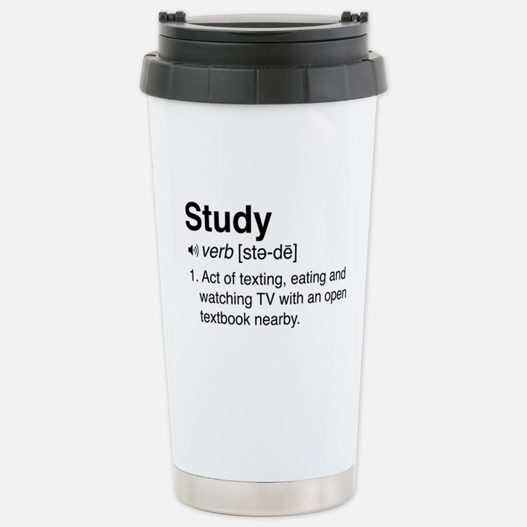 Study definition Travel Mug