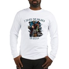 GOTG I Saved the Galaxy 2 Long Sleeve T-Shirt