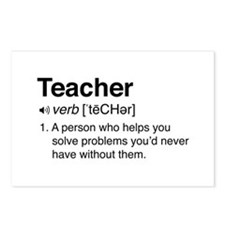 Teacher Definition Postcards (Package of 8)
