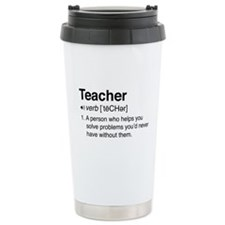 Teacher Definition Travel Mug