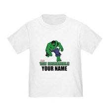 The Incredible Hulk Personalized D T