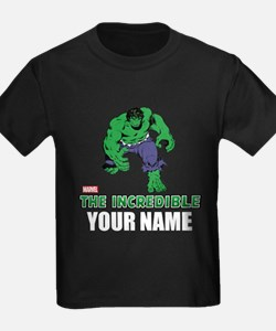The Incredible Hulk Personalized T