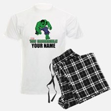 The Incredible Hulk Personali Pajamas
