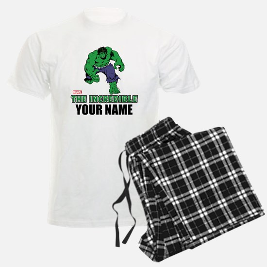 The Incredible Hulk Personali Pajamas