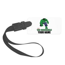 The Incredible Hulk Personalized Luggage Tag