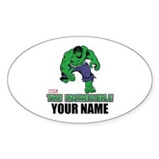 The Incredible Hulk Personalized De Decal