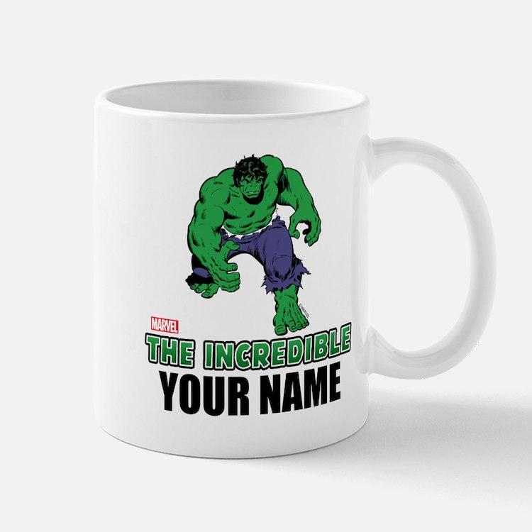 The Incredible Hulk Personalized Design Mug