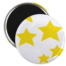 Yellow Stars Magnets