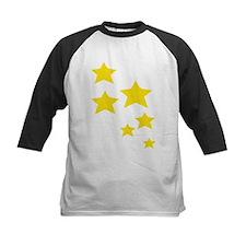 Yellow Stars Baseball Jersey