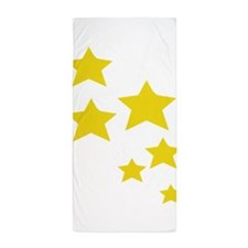 Funny Moon and sun Beach Towel