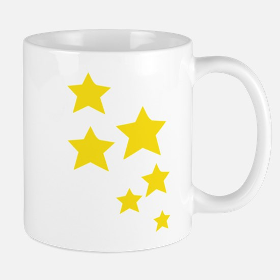 Yellow Stars Mugs