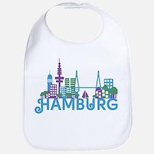 Cute Germany hamburg Bib