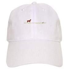 Vizsla on Chukar Baseball Cap