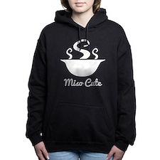 Miso cute Women's Hooded Sweatshirt