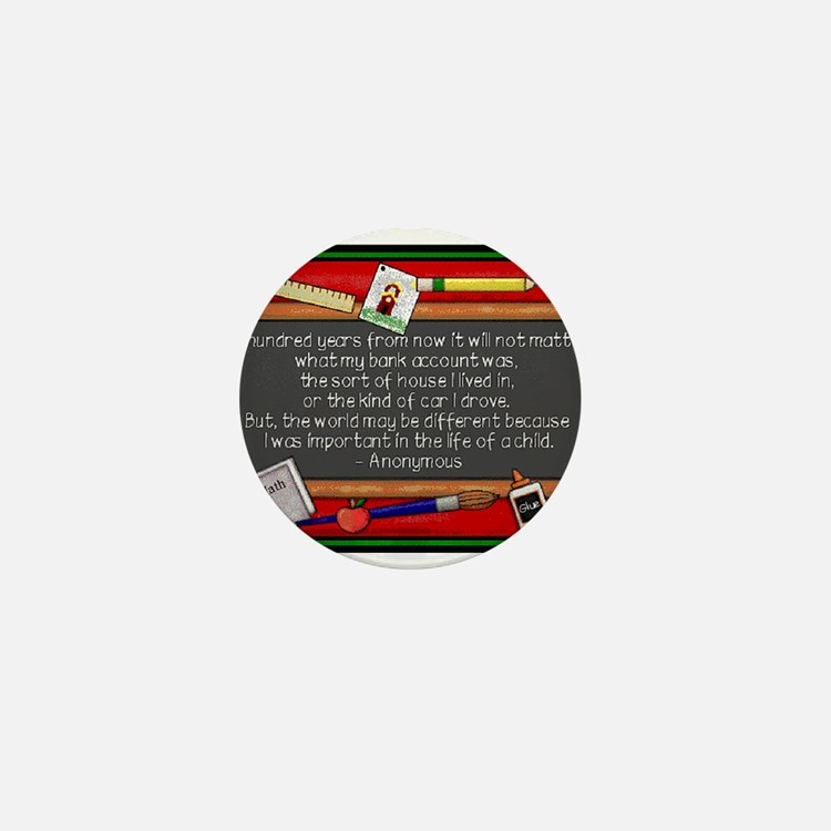 Teacher Mini Button (100 pack)