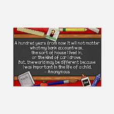 Teacher Rectangle Magnet (100 pack)