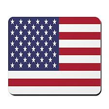 United States Of America Flag Mousepad