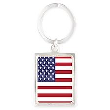 United States Of America Flag Keychains