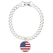 United States Of America Flag Bracelet