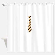 Funny Grey and yellow Shower Curtain