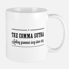 The comma sutra Mugs