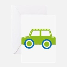 Toy Car Greeting Cards