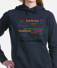 im a gymnast Women's Hooded Sweatshirt