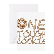 One tough cookie Greeting Cards