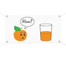 Orange Juice Mom Banner