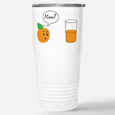 Orange Juice Mom Travel Mug