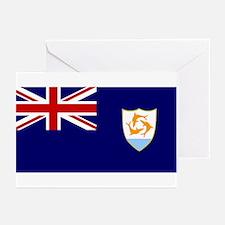 Anguilla Flag Greeting Cards (Pk of 10)